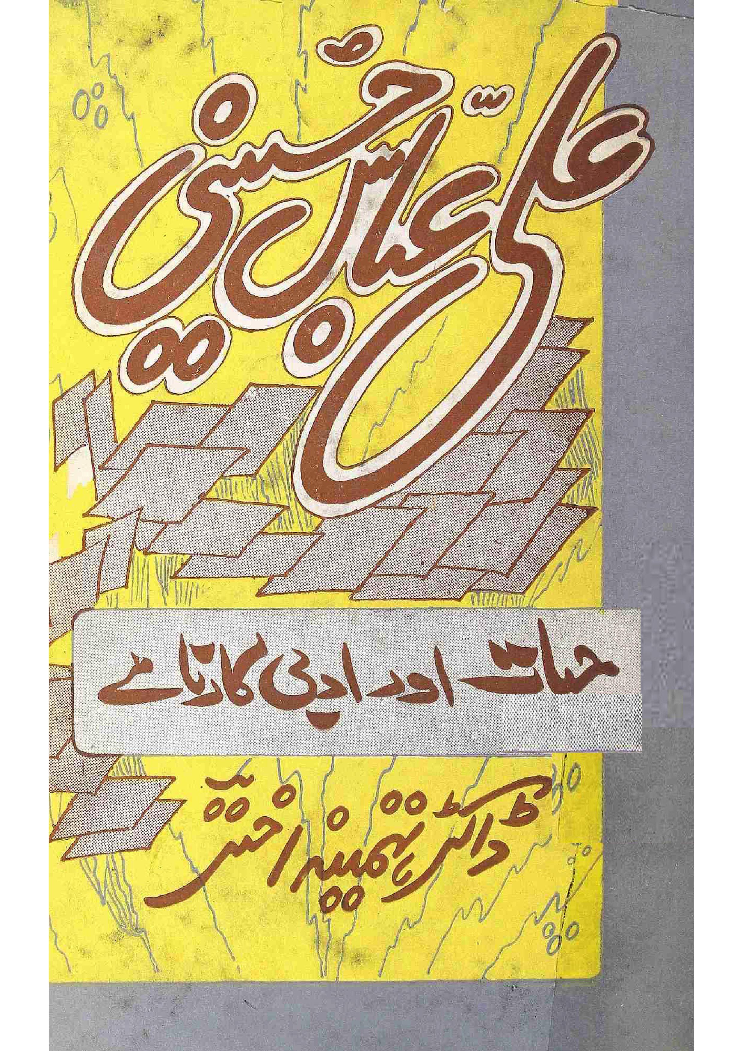 Ali Abbas Husaini     Hayat Aur Adabi Karname